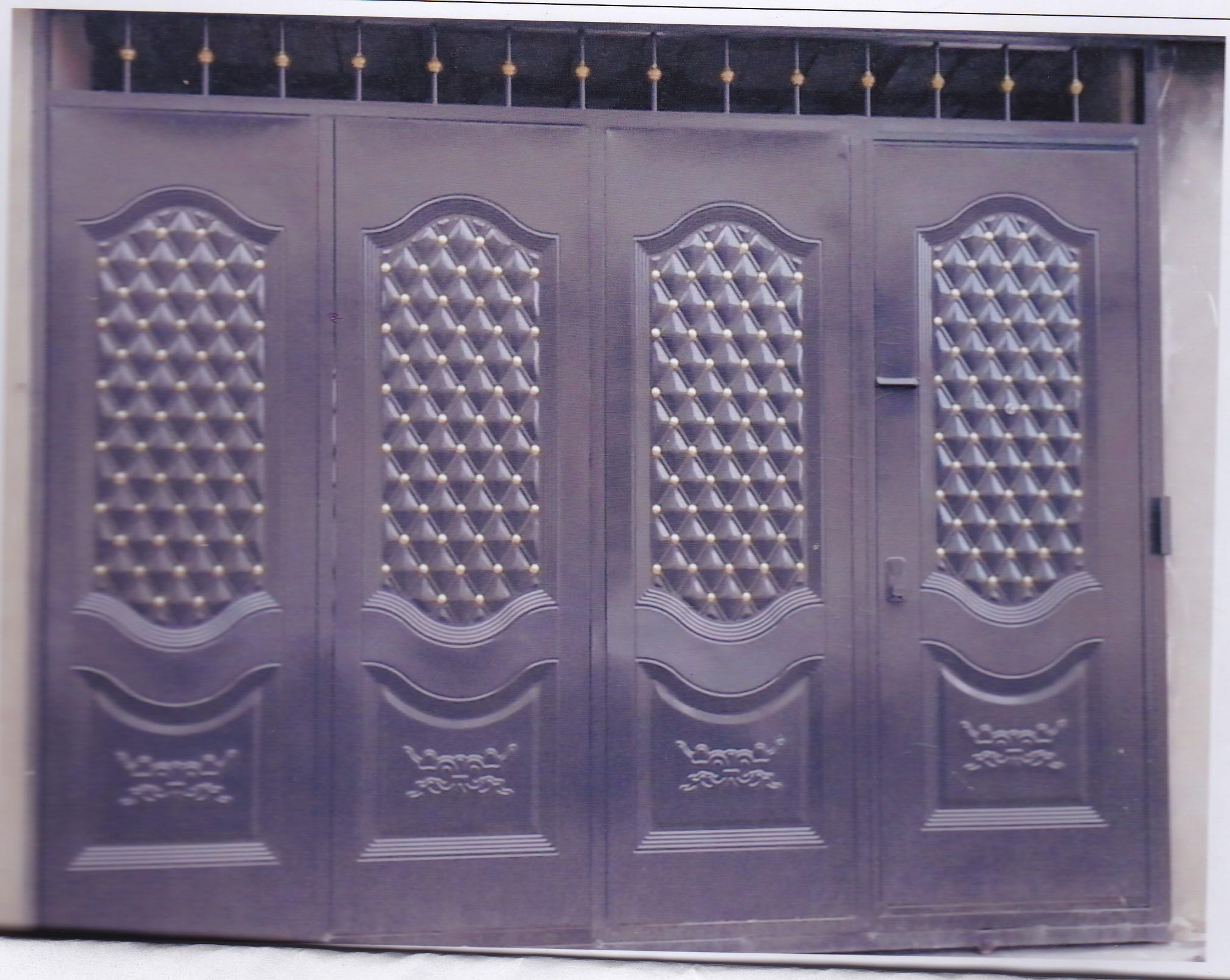 Puertas metalicas economicas calderon altamax for Puertas metalicas economicas