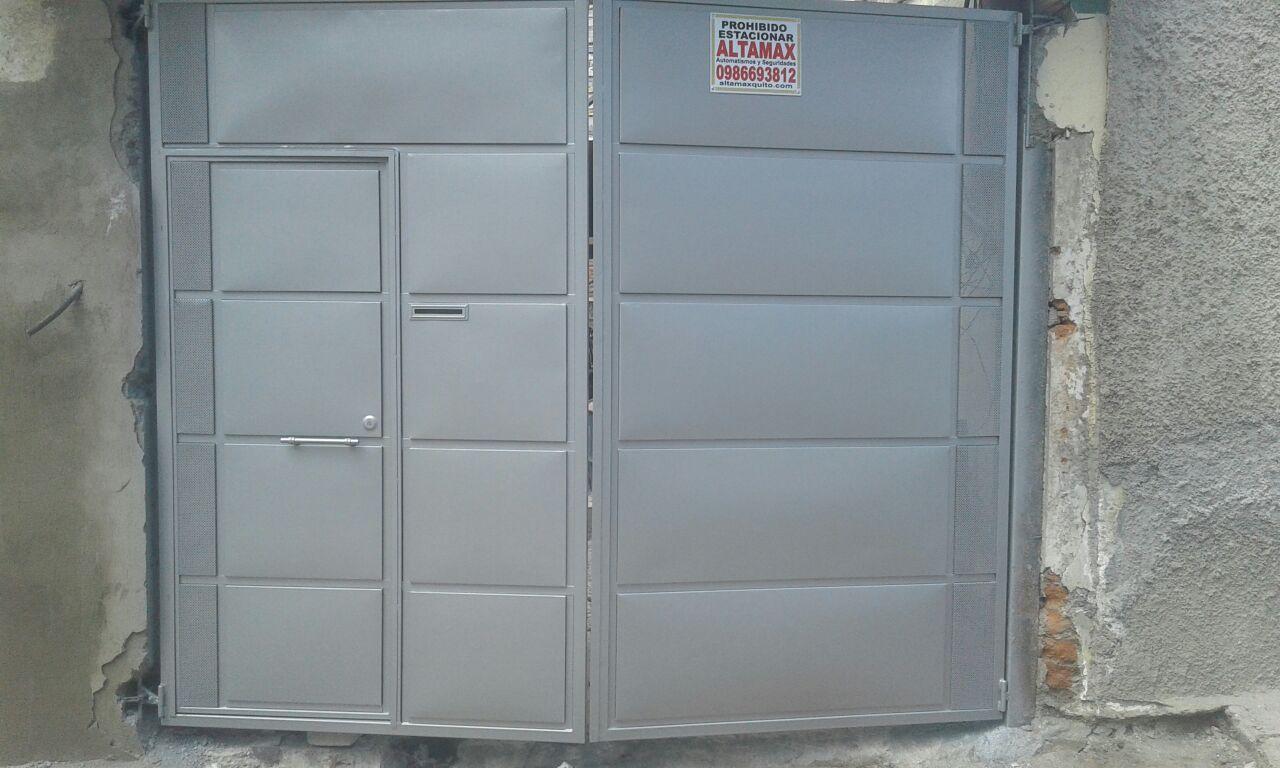 puertas metalicas baratas en quito altamax